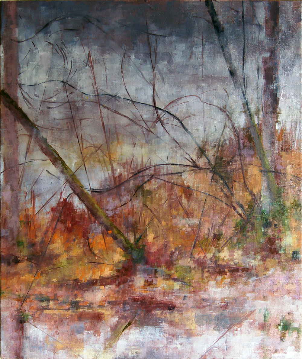 """Before the Rain Came"", 2012, oil on linen, 20"" x 16"", Private collection"