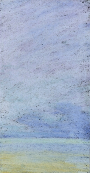 """Chicago #2"", 2002-03, pastel on paper, 9"" x 6"""