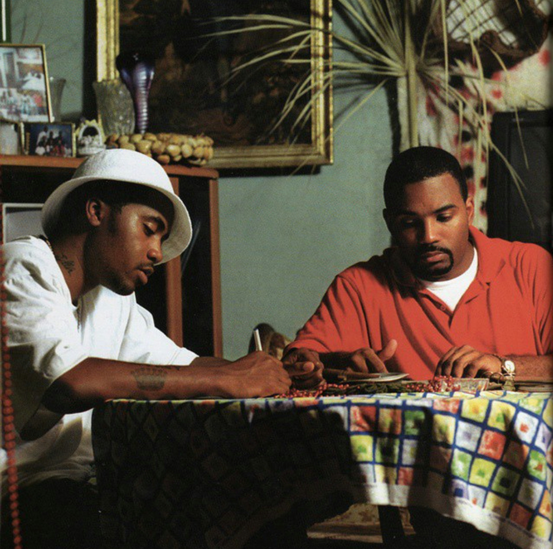 resurrectinghiphop :       Nas and Large Professor