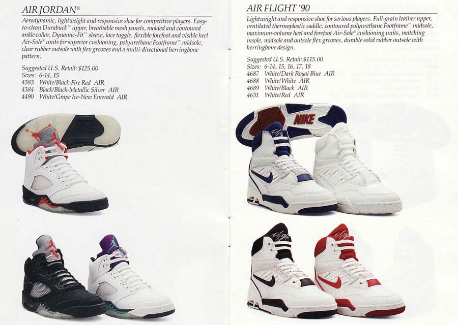 classickicksnyc :     1990 Nike Basketball Catalog