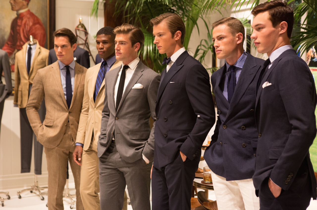 ralphlauren :     Places to go: the #PoloRalphLauren suiting styles for the modern man. #NYFWM