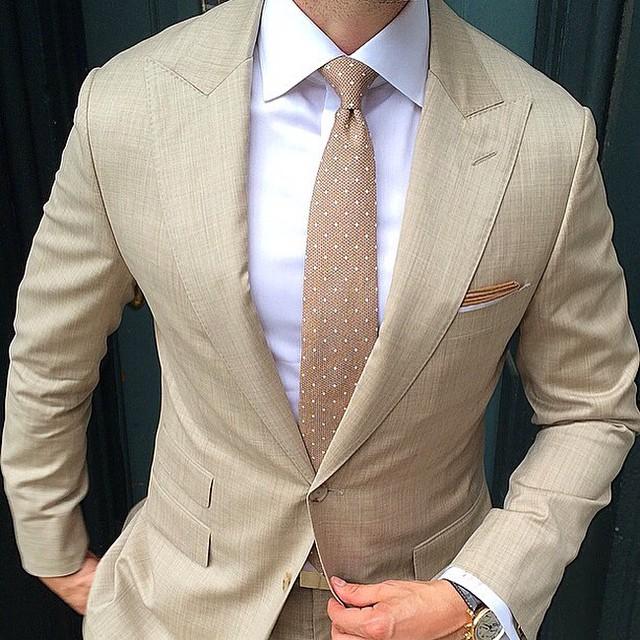 mnswrmagazine :     Summer beige. Style by @gentsplaybook || MNSWR style inspiration ||  www.MNSWR.com