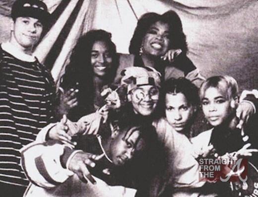 90shiphopraprnb :      Marky Mark, Oprah Winfrey, Kris Kross & TLC