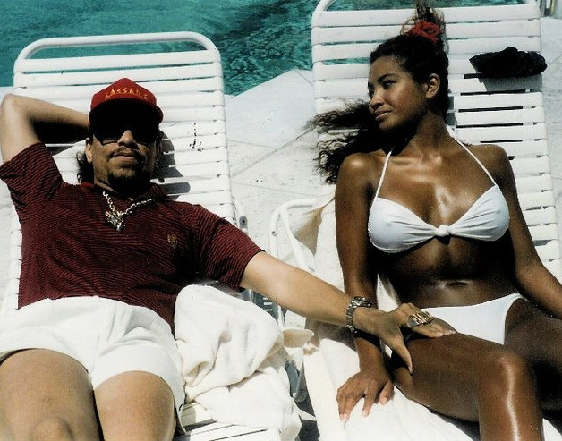 90shiphopraprnb :      Ice-T and Darlene Ortiz