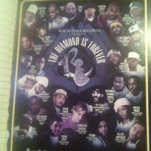 urbanalleyblog :     #tbt The Old ROC Roster .. Ish Was On Lock!!!! 🙌🙌🙌 #rocafella