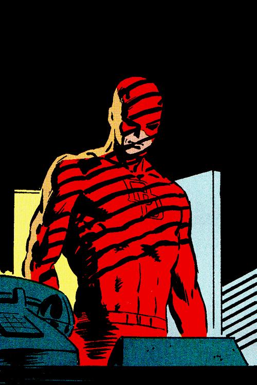 bushidocaps :     Frank Miller's Daredevil (Vol. 3)