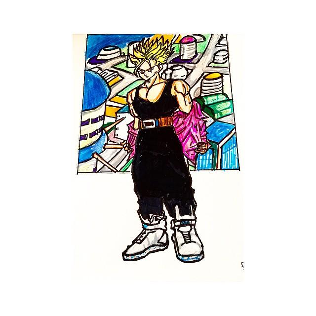 #FutureTrunks #Trunks #Androids #AndroidSaga #HistoryofTrunks #DragonballSuper #DragonballZ #nikemag #Nike #NikeAir #sportswear #backtothefuture #martymfly # #tagforfollowers #teamfollowback #followtrain #followforfollow #likeforlike