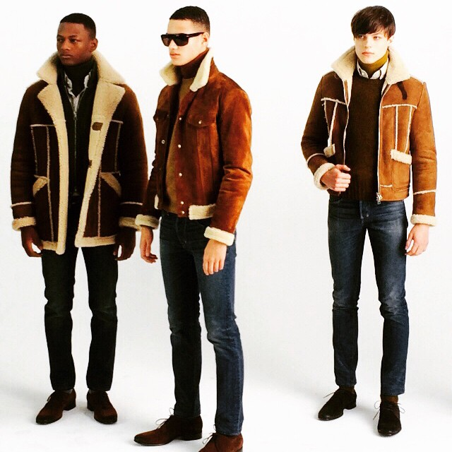 rakehound: Fabulous shearling jackets from TOM FORD #AW15 - previewed for The Rake today at #LondonCollectionsMen. #TheRake at #LCM15 #Luxury #Shearling #Jackets #TomFord #MensStyle #SneakPeek #ModernStyle #CasualStyle #Contemporary #Menswear #Design