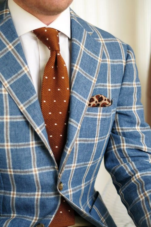 completewealth :     File under: Window pane, Sports coats, Ties, Pin dots, Pocket squares, Patterns     ||BLOG//  FACEBOOK//  TWITTER||