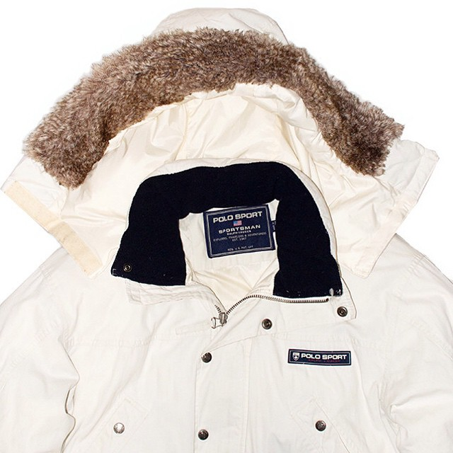 beggarsvintage :   Polo Sportsman down filled parka  #Polo