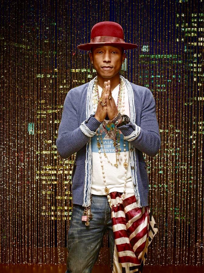 pharrellandhelen :     Pharrell Williams