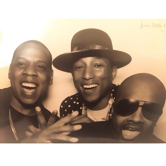 rapradar :     Hov. Pharrell. JD.
