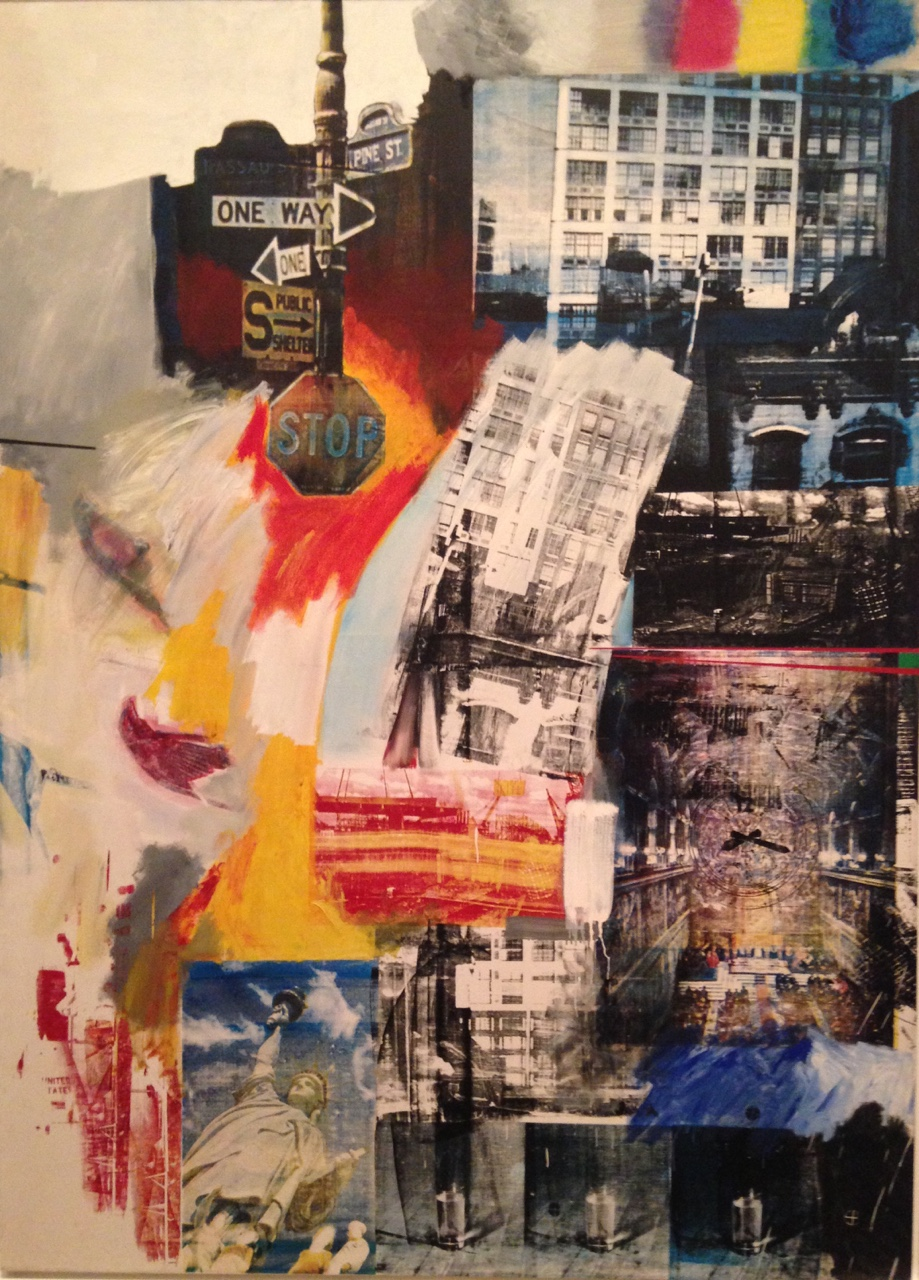 justaguyfromphilly :     Estate - 1963   Robert Rauschenberg