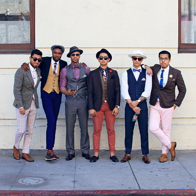 maninpink :     `Think Pink` via Pocket Square Clothing