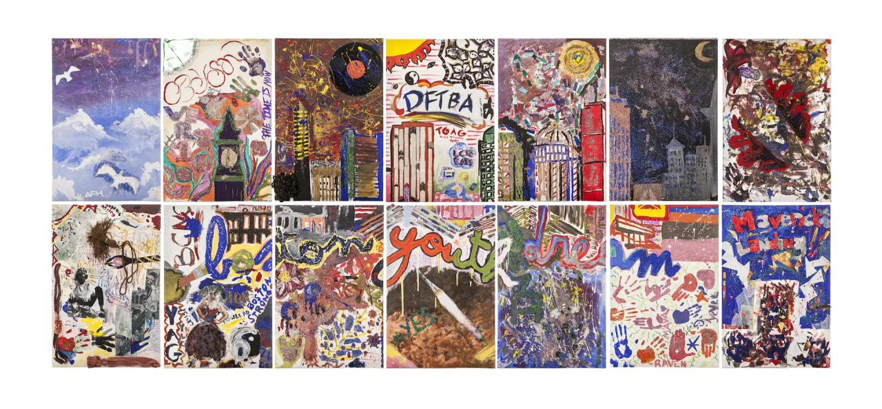 youngboston :     Boston Youth Voice Mural #ArtsInYouth