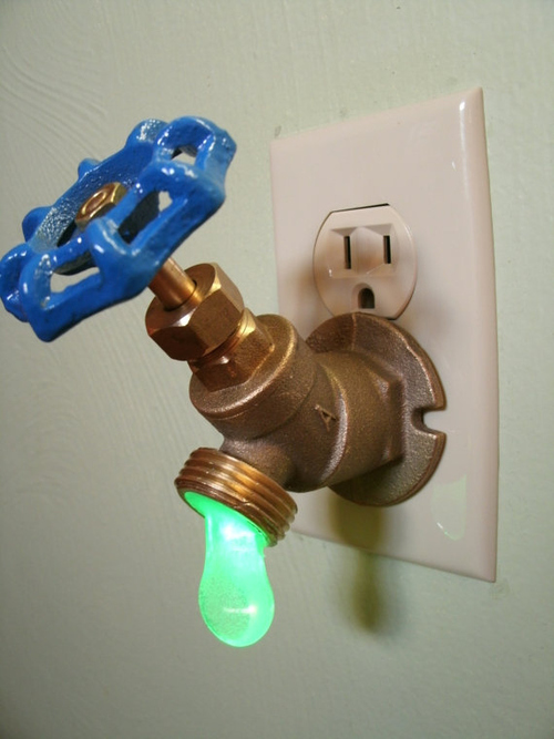 utopiacontent :      Well this is the coolest nightlight ever.