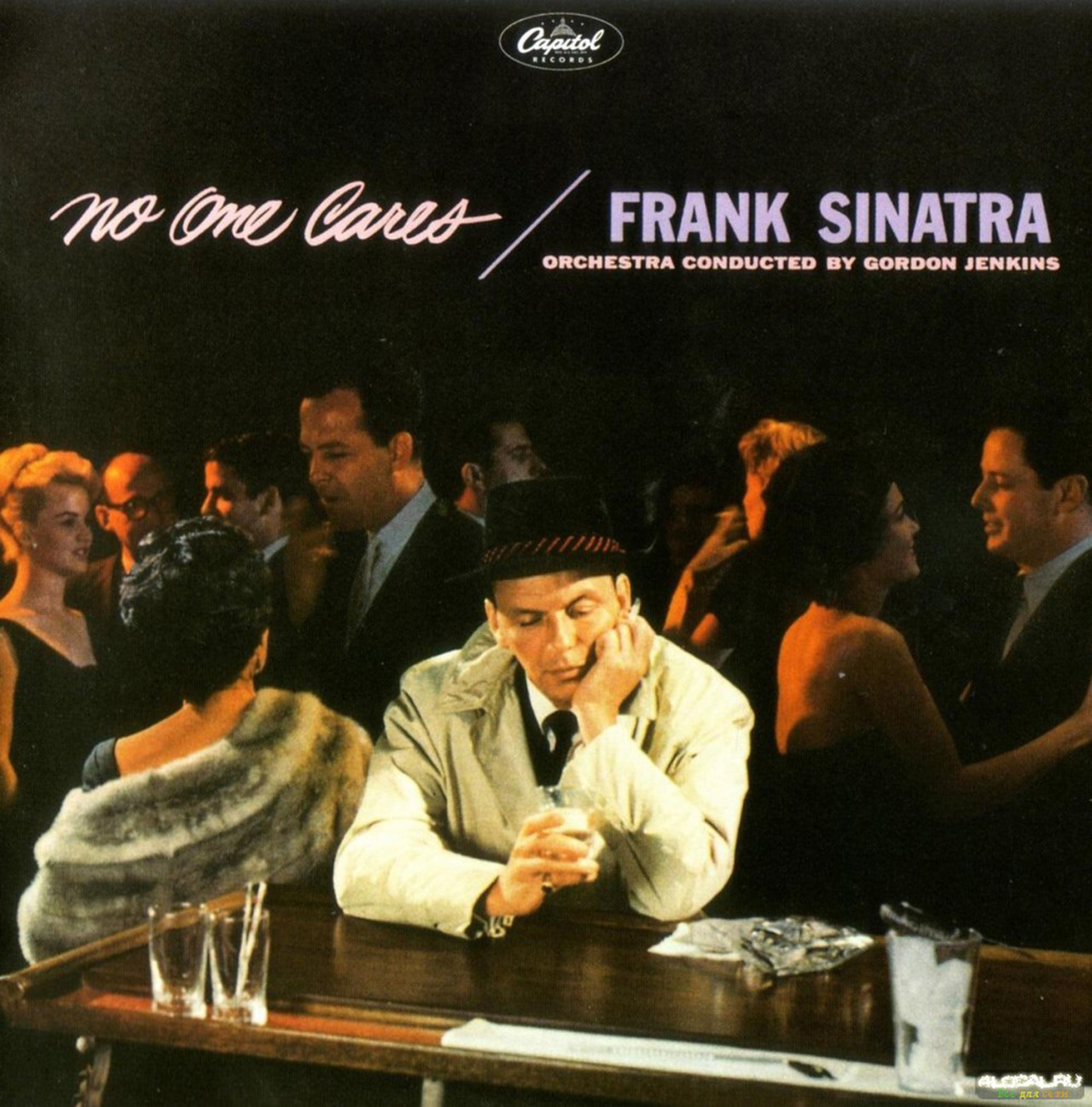sleevesbythewhlgn: Artist: Directed by Frank Sinatra  Musician: Frank Sinatra Album: No One Cares Genre: Jazz / Pop Released: 1959