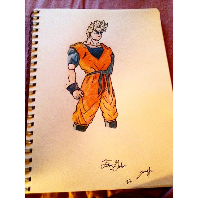 Work for the homie @gohan_ultimate417