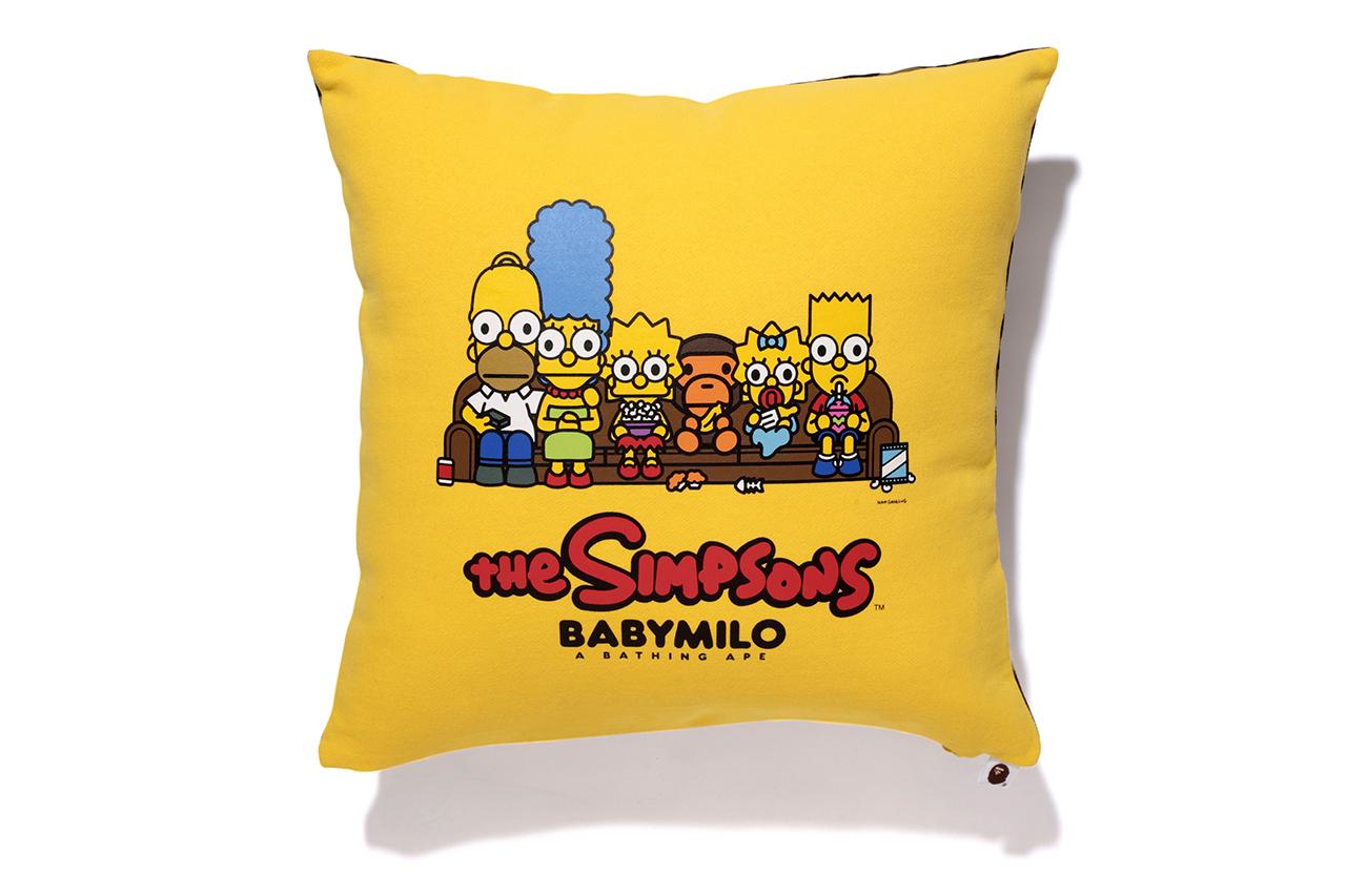 thirdlooks :     Simpsons x BAPE 'Baby Milo' Pillow