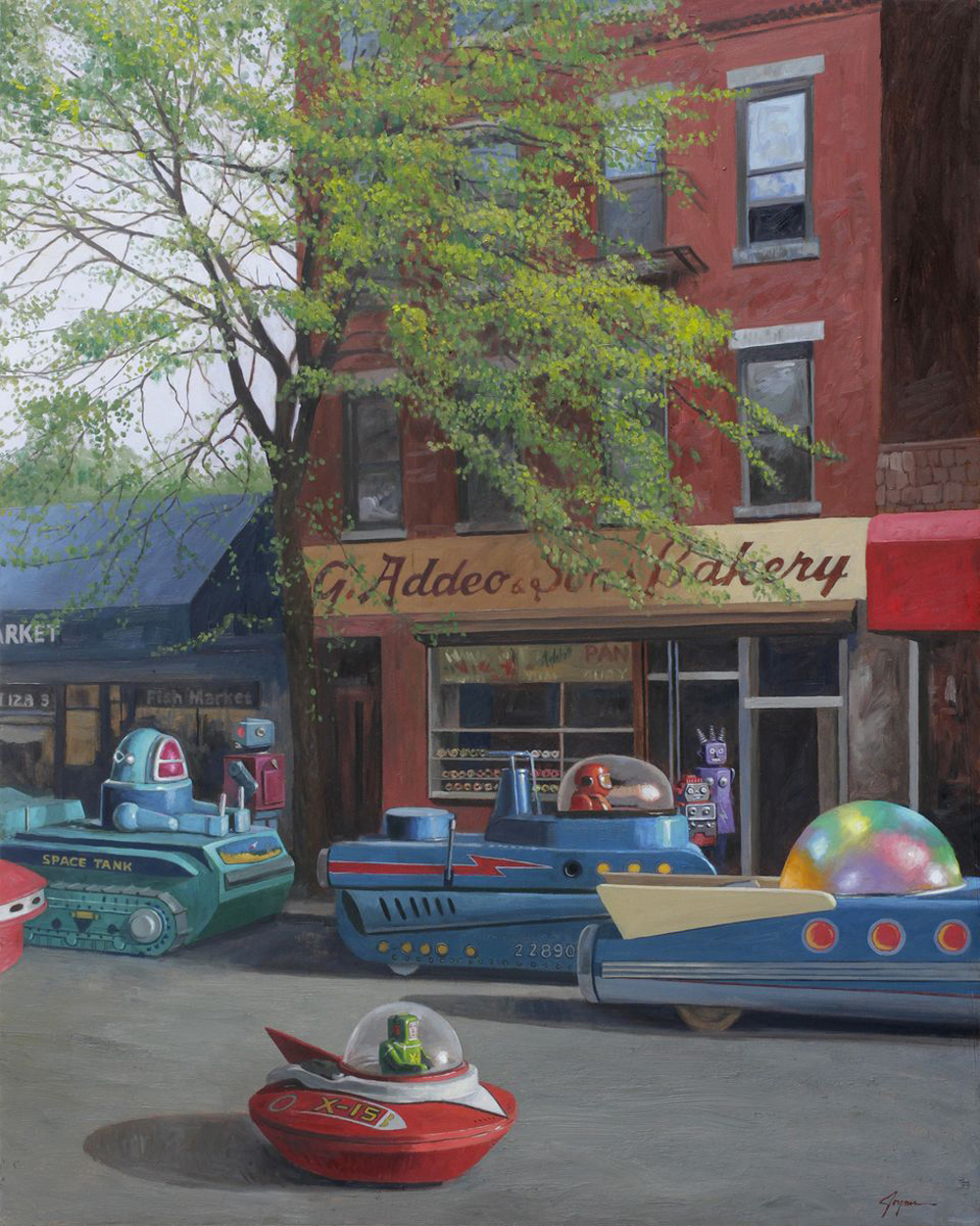 "charmschoolcie :     Eric Joyner's ""First World Problems"" opens at  Corey Helford Gallery  on Saturday, August 13."