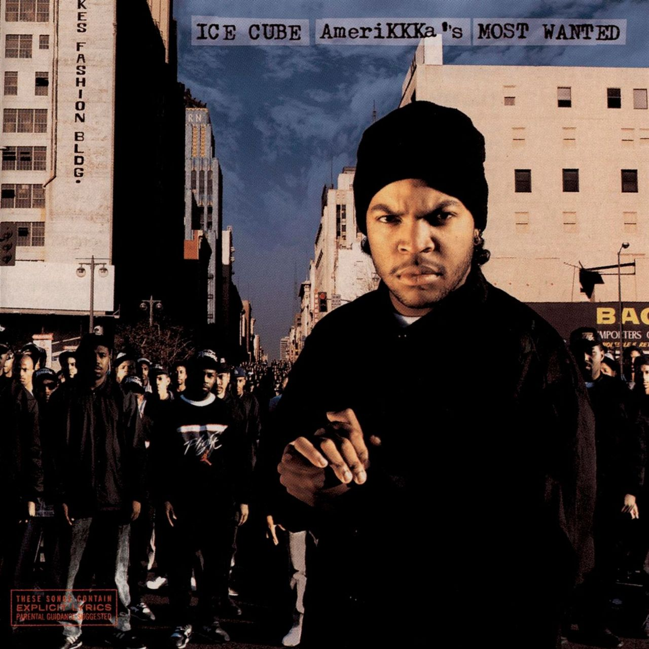 upnorthtrips: BACK IN THE DAY |5/16/90| Ice Cube releases his debut album, AmeriKKKa's Most Wanted, through Priority Records