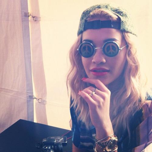 gqfashion :     Rita Ora. #girlwatchinginphilly? #madeinamerica (Taken with  Instagram )