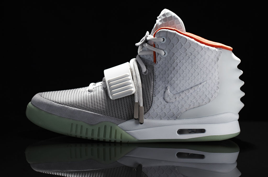 fuckyeahnikes: The Nike Air Yeezy II in the Platinum and the Black edition will release June 9th at select global retailers in limited numbers. Hypebeast sold seperately.