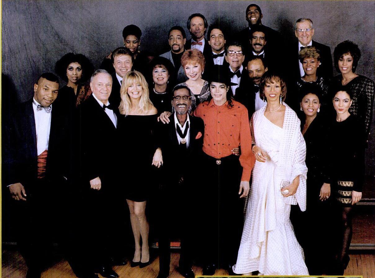vintagexlife :     Sammy Davis Jr., Mike Tyson, Clint Eatwood, Magic Johnson, Michael Jackson,Frank Sinatra and more