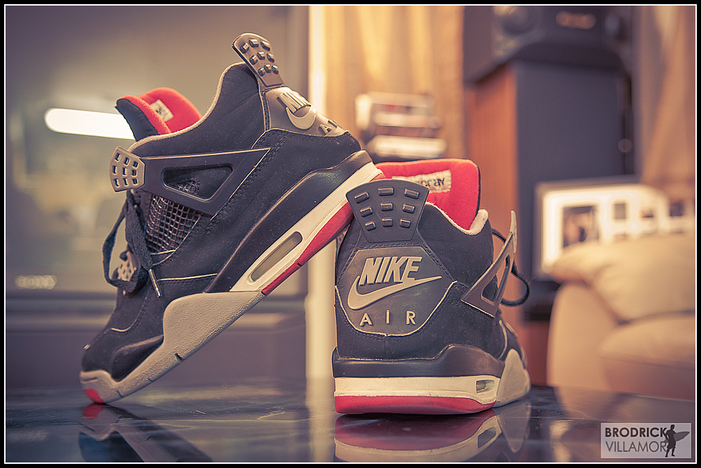 fuckyeahnikes :       1 999  IV Breds   Follow the photography    http://brodrickvillamor808.tumblr.com/