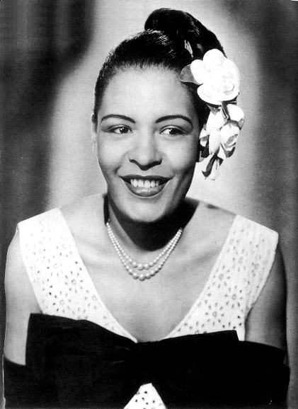todaystie :      Billie Holiday   born Eleanora Harris on April 7, 1915
