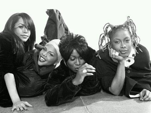almondeephresh :     Aailyah, Lil Kim, Missy Elliott, Da Brat; 1990's;