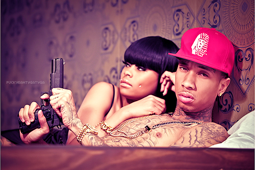 sexywonder: Tyga And Chyna