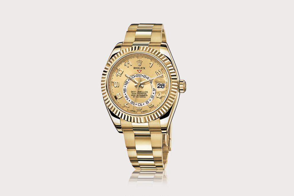 theallmightysovereignty: 2012 Rolex Sky Dweller