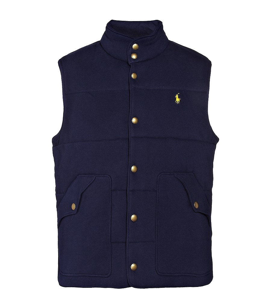dangerouslydebonair :        Polo Ralph Lauren : Fleece Vest.