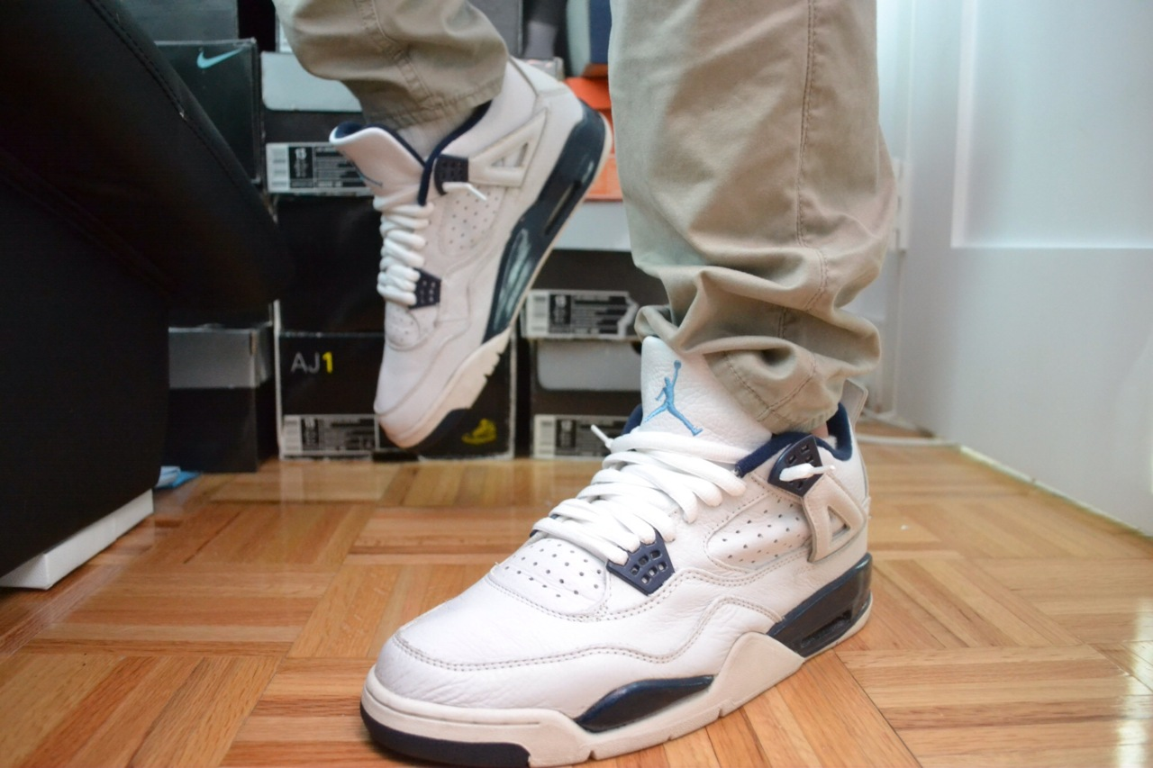 fuckyeahnikes :     Columbia 4's Boiiiiiiiiiiii       http://mysasquatchfeet.tumblr.com/    I follow back all the time :)      Bossed Up.!