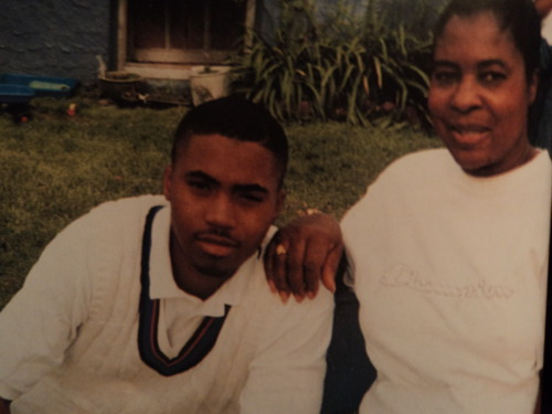 jaysvanshuaraches :     Nas & his late mother Ann Jones.