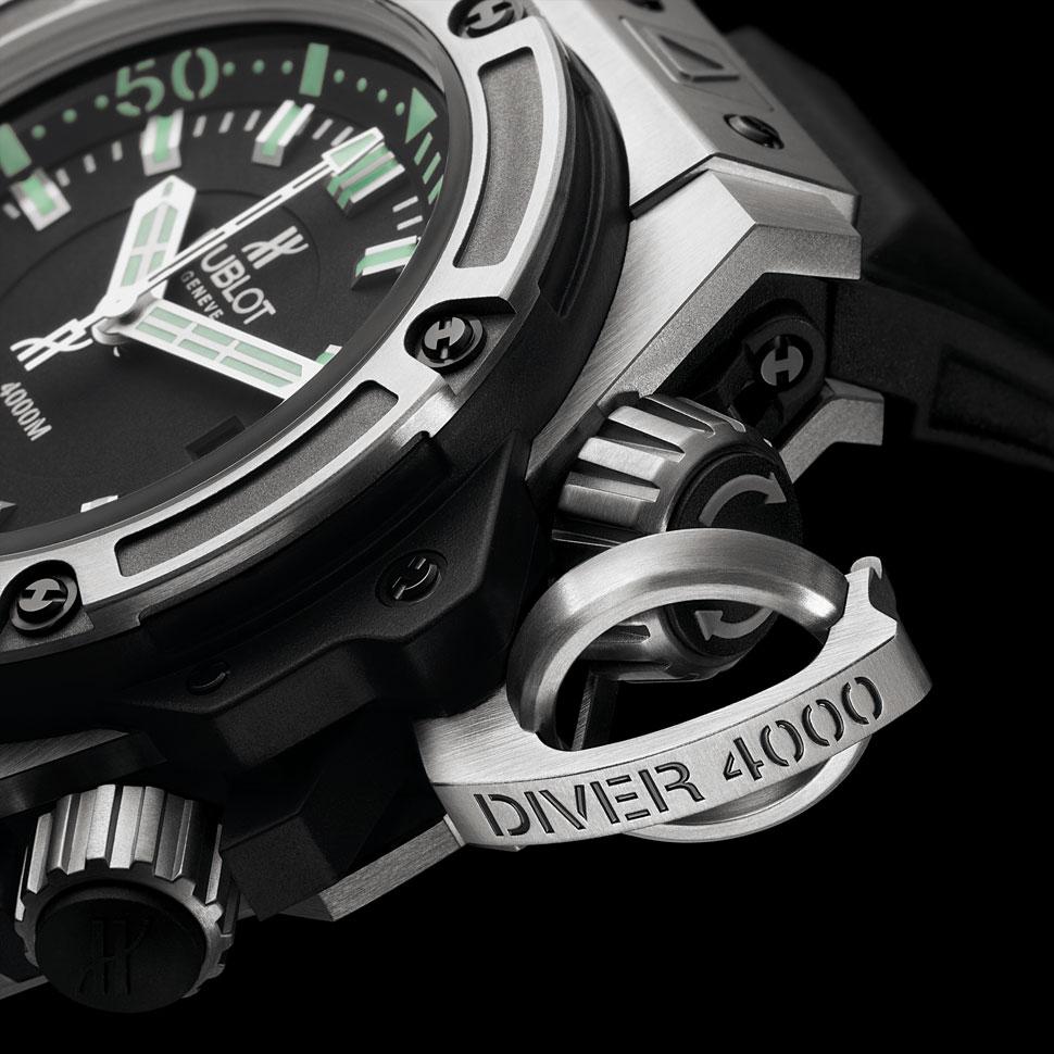 loganzane :      HUBLOT - OCEANOGRAPHIC 4000      New Watch Alert…..Hublots.