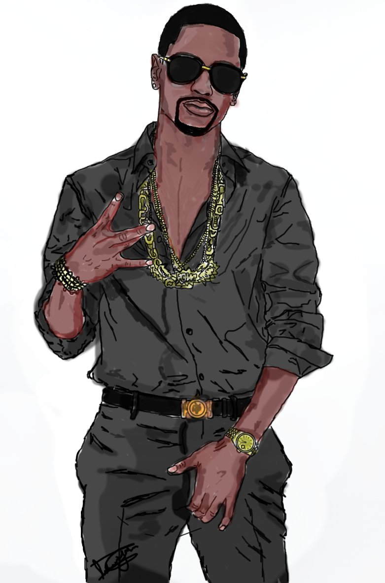 fuckyeahbigsean: Via Islaam Izzle Yasin This Is Way Cooler Than The Big Sean Pic I Drew….much Respect.