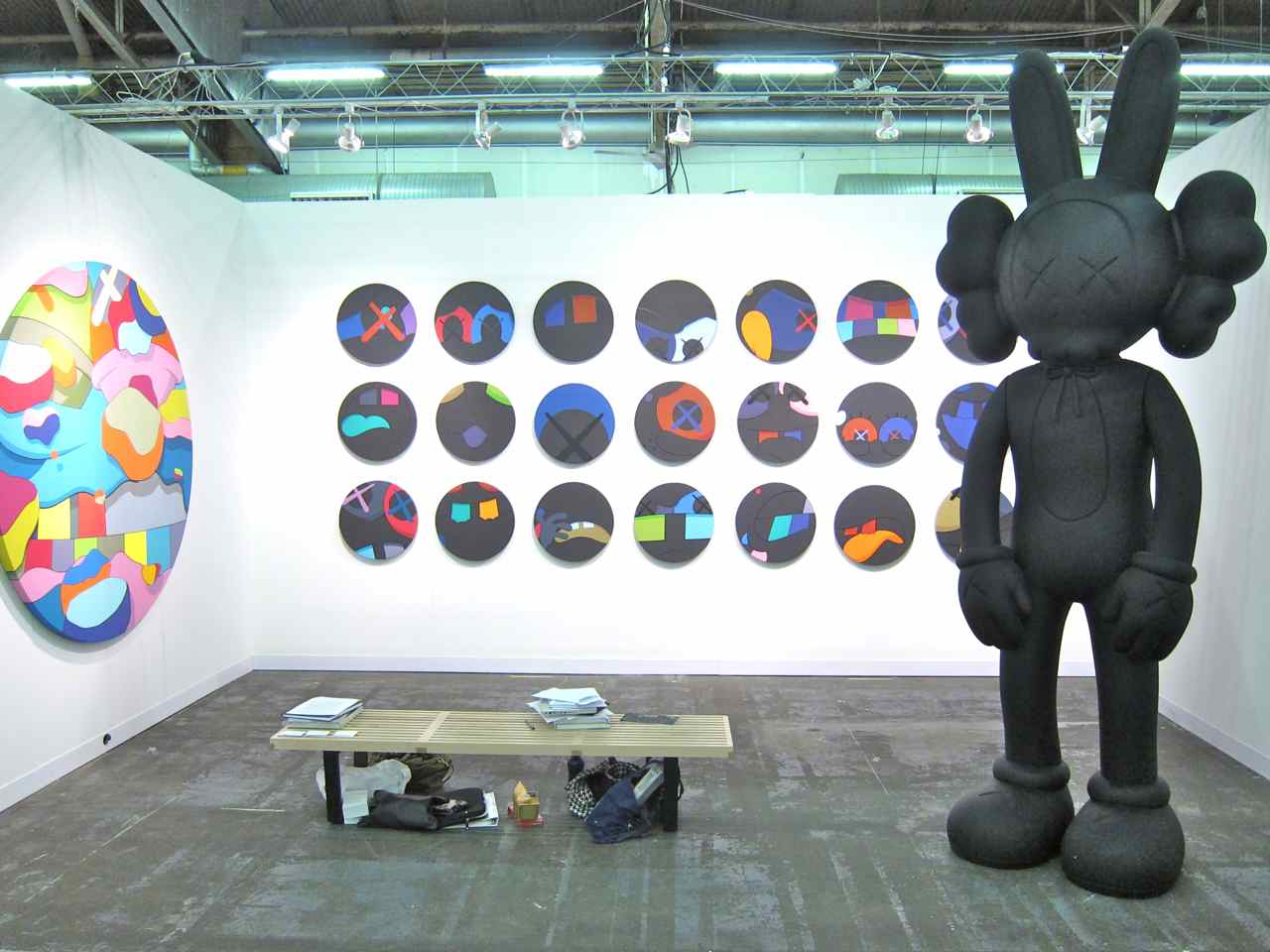 KAWS at Honor Fraser.