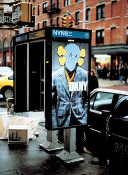 fuckyeakaws: KAWS in NYC (via fuckyeakaws)