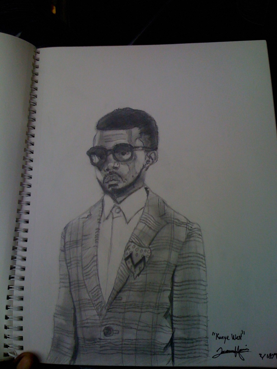 KANYE WEST BY ME(JHarry)   I CREATED THIS A WHILE AGO   SPREAD WORD….