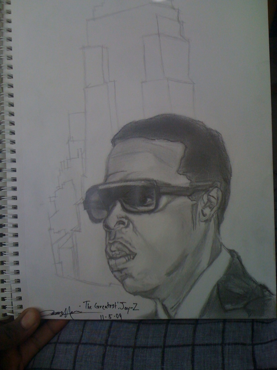 This is A Jay-Z portrait created by me(JHarry).   I created this some while ago.   You can enjoy however you want   SPREAD WORD…..