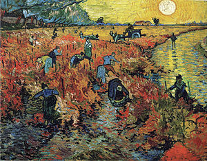 The Red Vineyard was the only painting Van Gogh sold in his lifetime