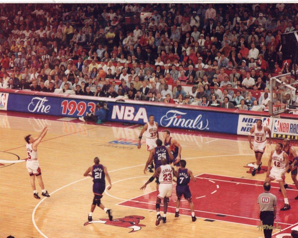Jordan trusts John Paxson with big time shot