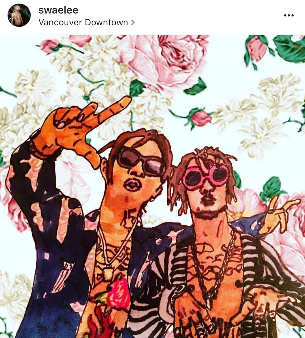 A Picture I Drew of Rae Sremmurd, That Swae Lee Posted go check it out  https://instagram.com/p/BH3k9AtDeFt/