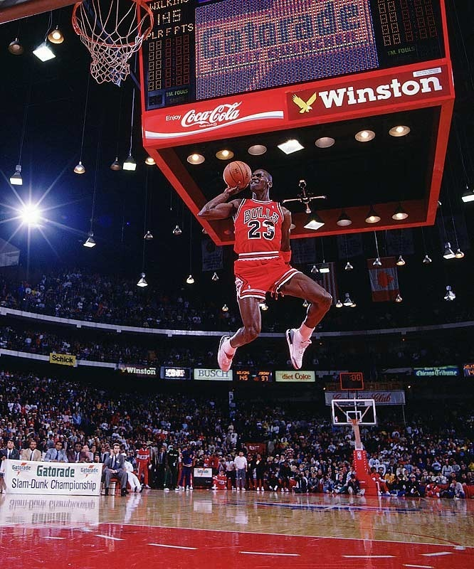 88' Jordan Leaping fro the Free Throw *pusha t voice*