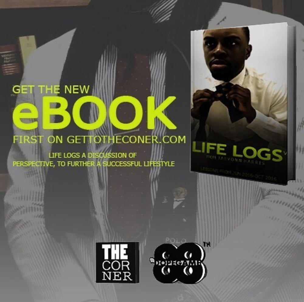 have you purchased my book yet? Get one for you and a friend! 👉🏾 gettothecorner.com/lifelogsvol1