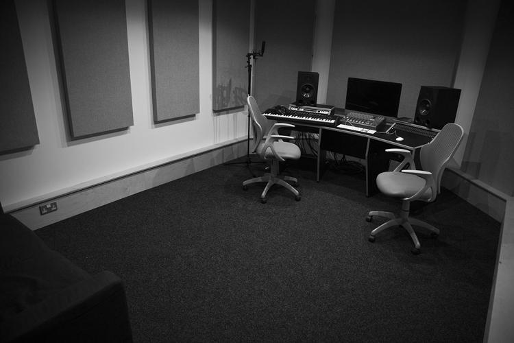 Studio 1 - SSL X-Desk with Adam A8X Monitors