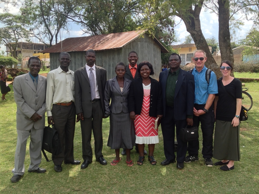 Pastor Fredrick and Emily and their pastoral team