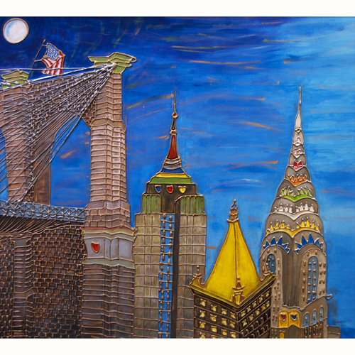 Beauty of Brooklyn Bridge — Custom Framing NYC, Galleria On Third